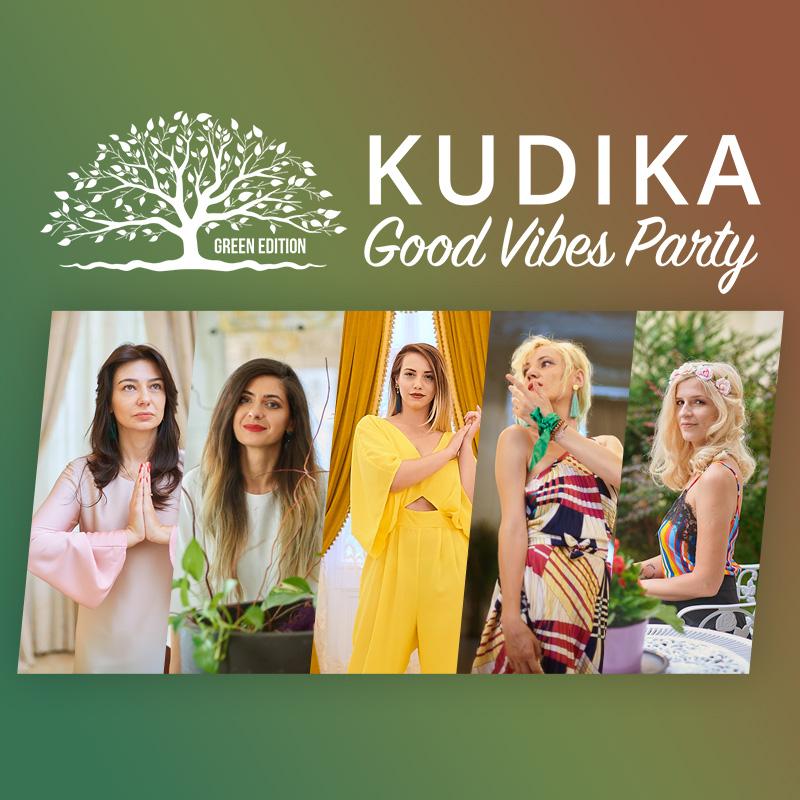#kudikavibe: Verde inseamna energie. Curaj. Vitalitate